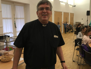 Drop in to see the Vicar during vestry hour