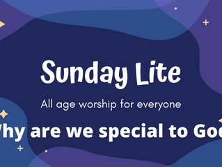 Sunday Lite - all age worship for everyone