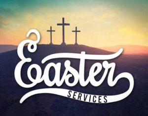 Easter services at St Michael's
