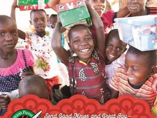 Christmas shoebox appeal - Deadline 13 November 2019