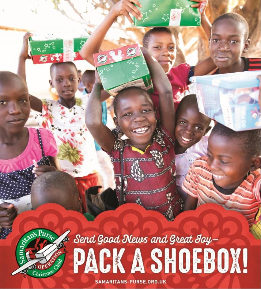Christmas Shoe Box Appeal 2019.Christmas Shoebox Appeal