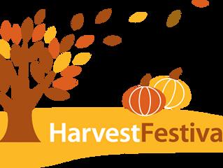 Harvest Festival: 8 October