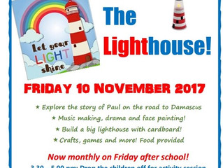 All Sorts: The Lighthouse! 10 Nov