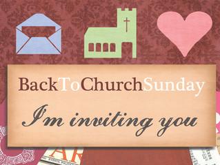 Back to Church Sunday: 24 Sep