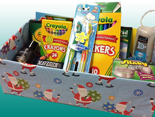 Cottingley Christmas Shoebox Appeal