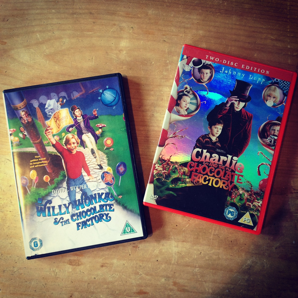 Charlie and the Chocolate Factory DVDs