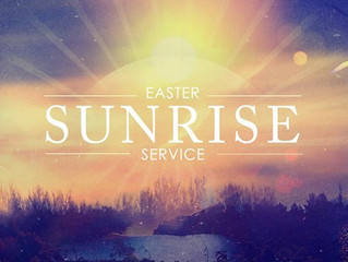 Easter Sunday Sunrise Service