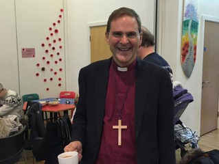 Bishop Toby visits St Michael's