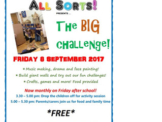 Friday All Sorts 8 Sep: NOW FULLY BOOKED