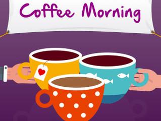 Coffee Morning: Saturday 2 Dec