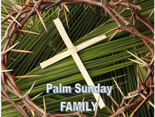 Palm Sunday Services - 14 April