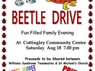 Beetle Drive! Saturday 18 August