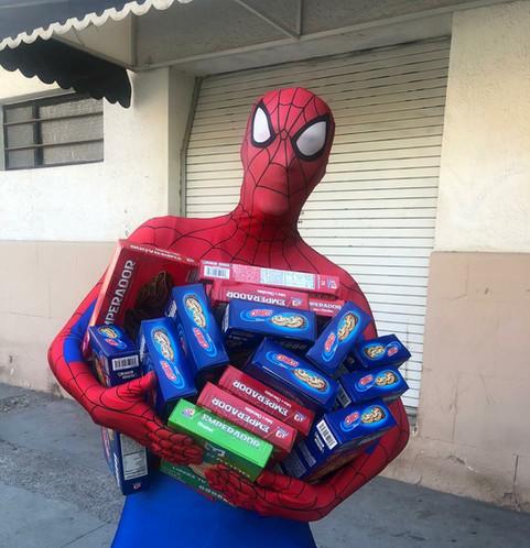 ¡Excelente respuesta en nuestra campaña de recolección de dulces!