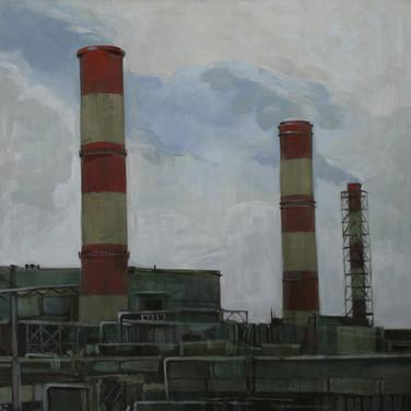 Теплоэлектроцентраль. Москва III. 2016