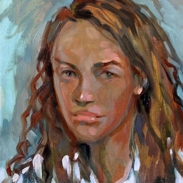 Женский портрет. 2014