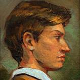 Портрет молодого человека. 1995