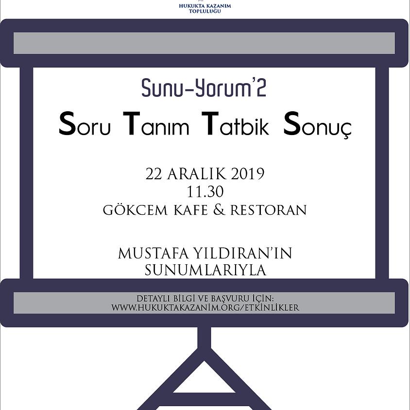 Sunu - Yorum'2: STTS
