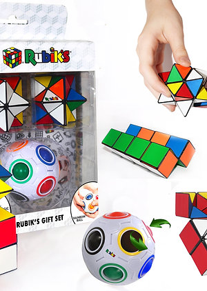 Rubiks Rainbow Ball Magic Star Gift Set
