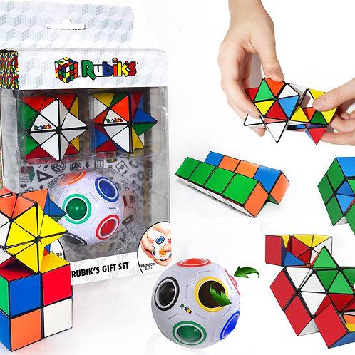 Rubiks Rainbow Ball Magic Star Gift Set