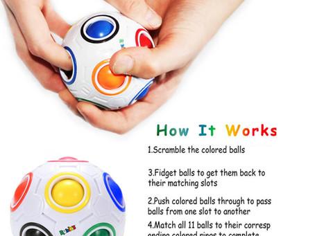 Rubik's Rainbow Ball