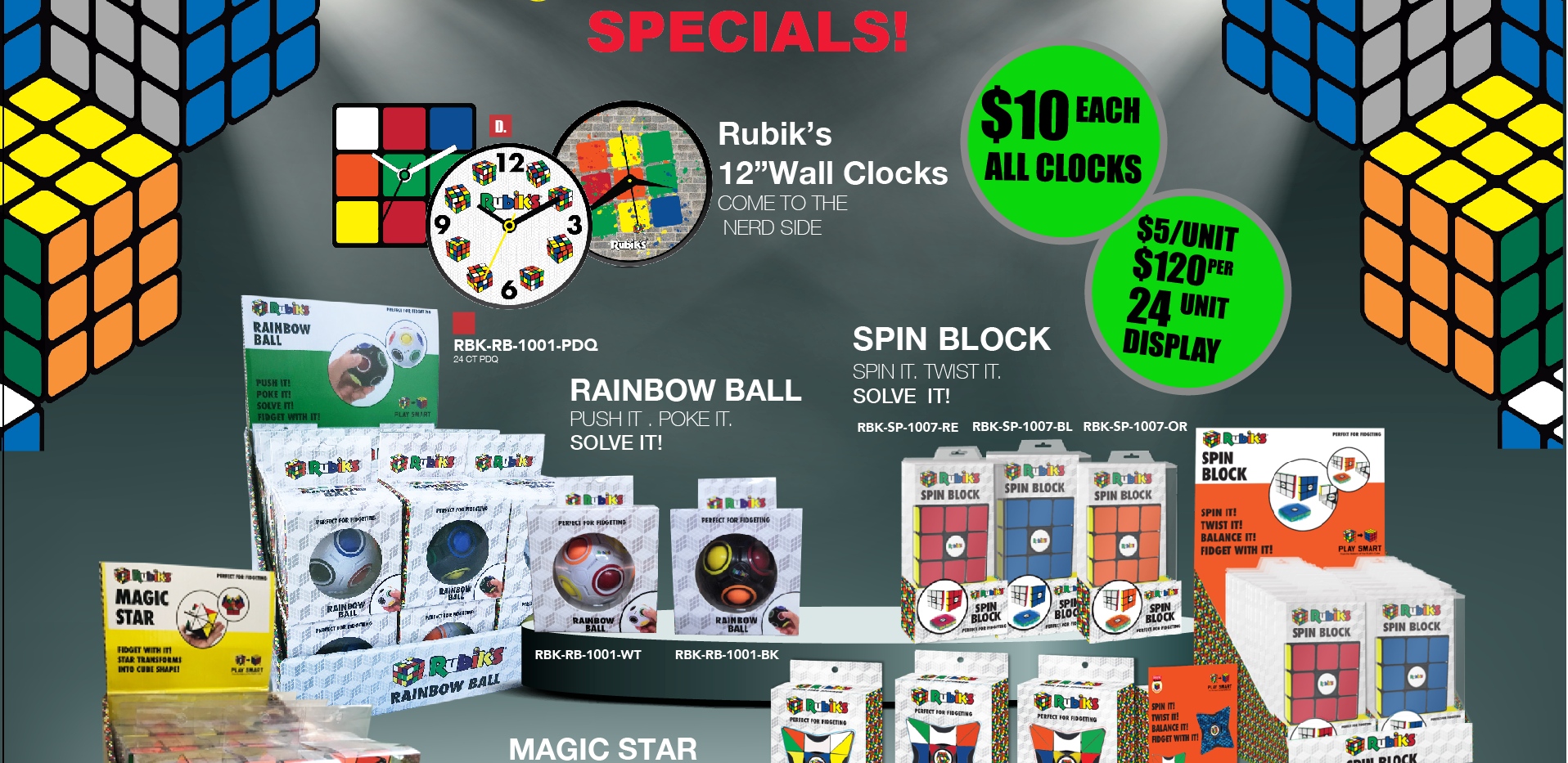 TOYZON | Rubiks Specials 2018