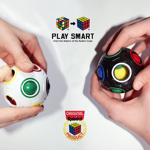 Rubik's Rainbow Ball in use