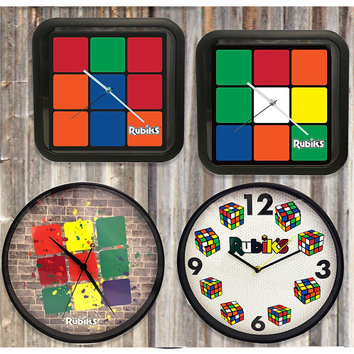Rubiks Wall Clocks