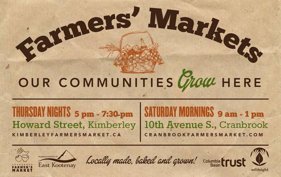 Farmer's Markets ad