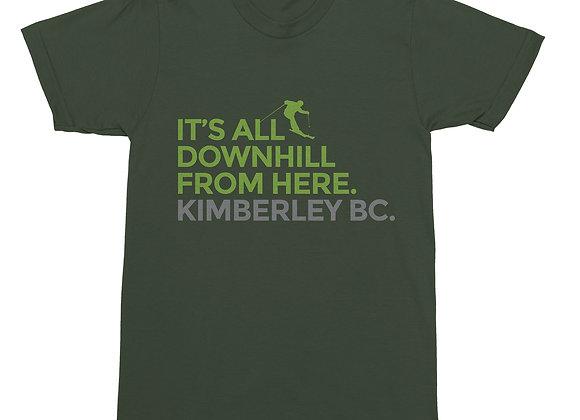 It's All Downhill...