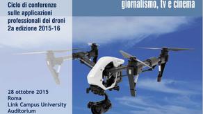 """Achrom a """"DRONEVISIONI"""" il nuovo appuntamento del Roma Drone Conference"""