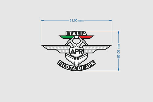 Patch microricamo - PILOTA DI APR