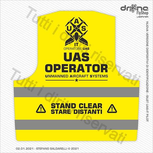 UAS OPERATOR - Operatore UAS - Gilet