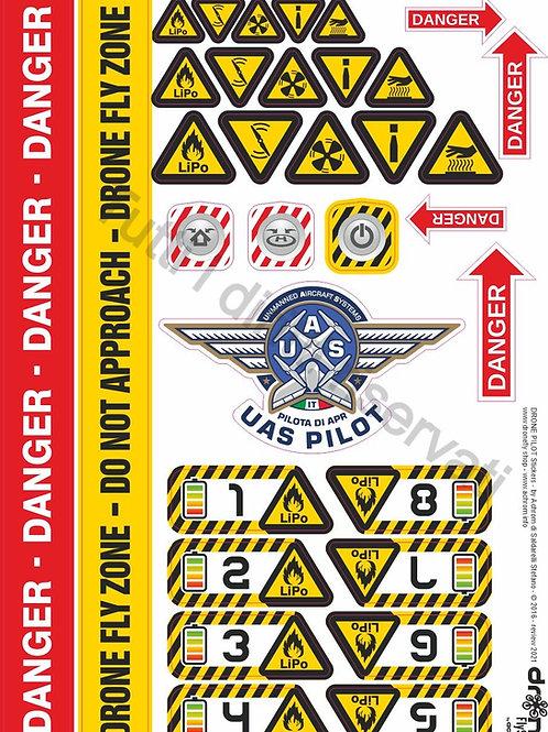 Stickers - gli adesivi per droni