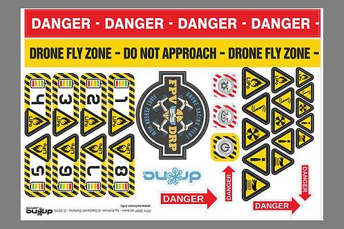 Stickers - adesivi per droni