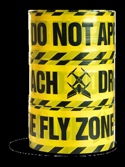 Kit 3 Nastri di delimitazione - Drone Fly Zone - Do Not Approach