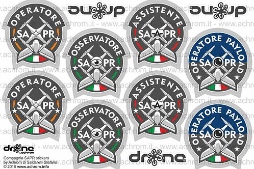 Stickers - adesivi Compagnia SAPR