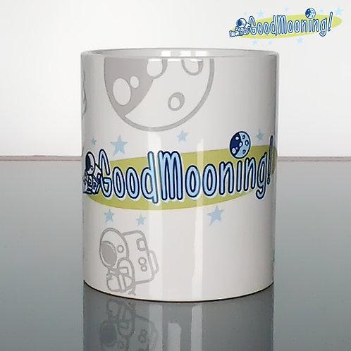 "Mug ""GoodMooning"" logo"