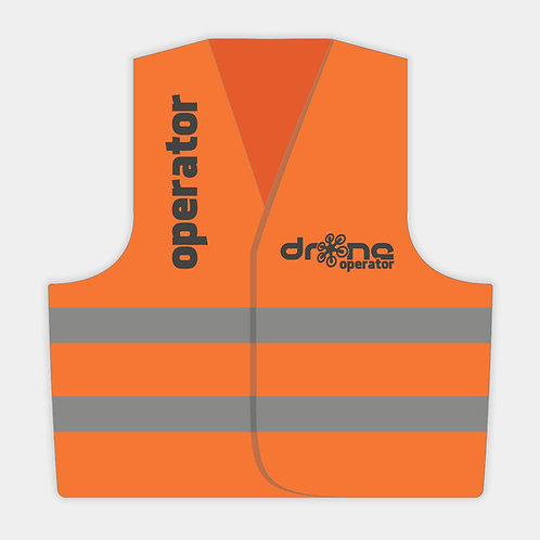 Gilet DRONE OPERATOR - versione inglese - WH