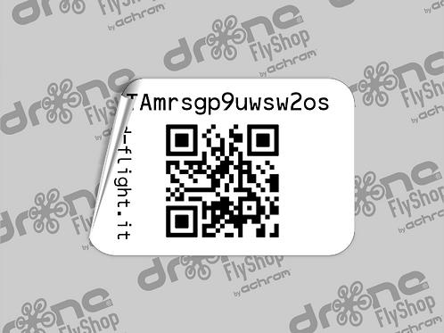 Stampa QR code Operatore UAS - (x4 copie)