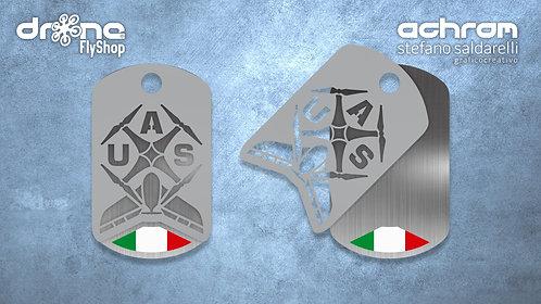 Drone JeweL - UAS Pilot - bandiera italiana