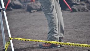 Grazie a Sapritalia il nastro delimitante Drone Fly Zone è arrivato sul vulcano Stromboli