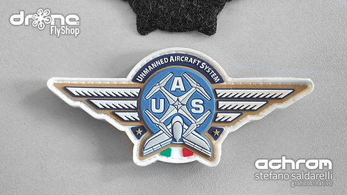 Patch 3D gommata UAS PILOT