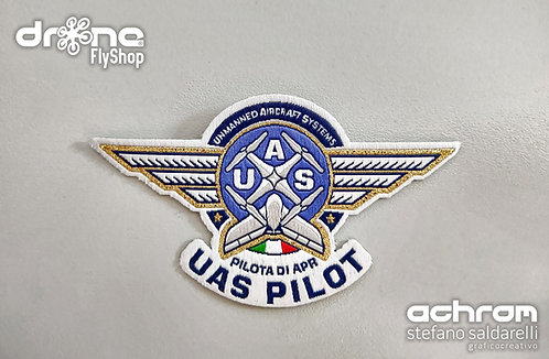 Patch microricamo - UAS PILOT - PILOTA DI APR