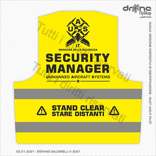 SECURITY MANAGER - Gilet