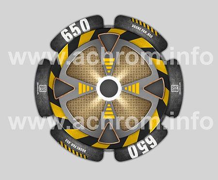Drone Pad - 650 - Alluminio