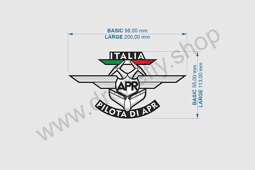 Sticker - adesivo PILOTA DI APR