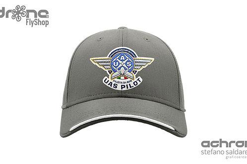 Cappellino UAS Pilot - Pilota di APR - grigio