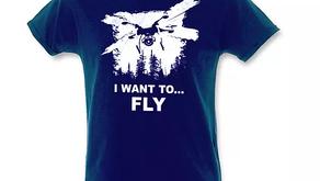 Arrivano le T-shirt per i dronisti