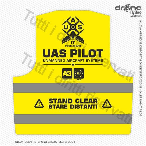 UAS - IT PILOT - A3 - Gilet