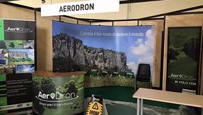 AeroDron a Forestalia con i Drone Signal personalizzati